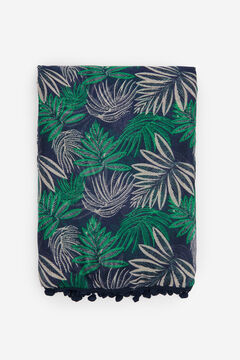 Springfield Tropical scarf Blue