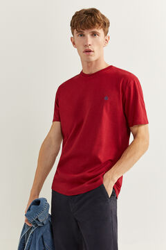Springfield Basic logo t-shirt royal red