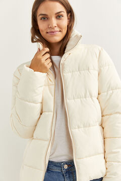 Springfield HIGH NECK DOWN COAT ecru