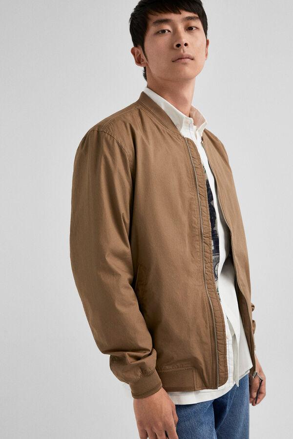 Springfield Basic bomber jacket beige 0d0329012e