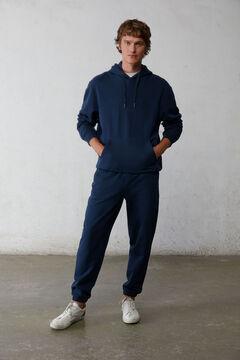 Springfield Essential boxy sweatshirt blue