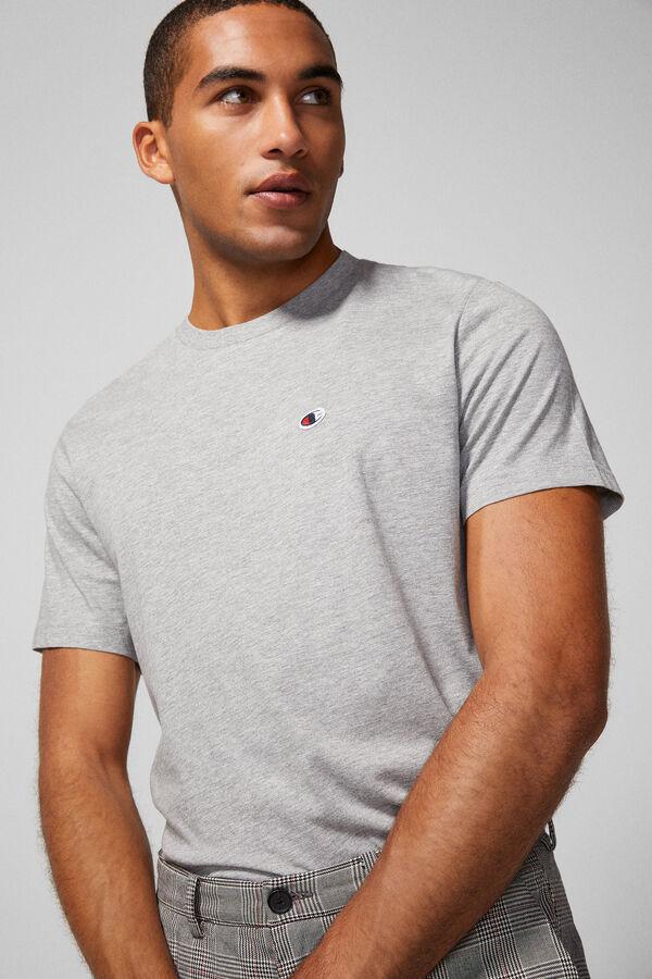 2bd627a619 Springfield Camiseta champion gris