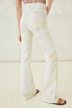 Springfield Bootcut jeans white