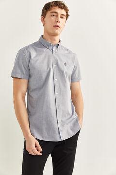 Springfield Hemd Pinpoint bläulich