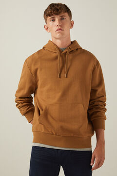 Springfield Essential boxy sweatshirt beige