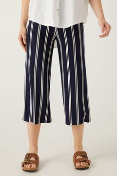 Springfield Elasticated waist culottes navy mix