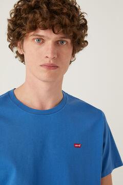 Springfield Camiseta algodón manga corta azulado