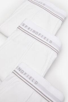 Springfield Pack 3 boxers básicos branco