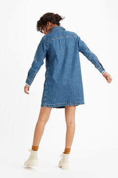 Springfield SELMA DRESS steel blue