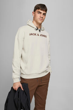 Springfield Logo hooded sweatshirt gray