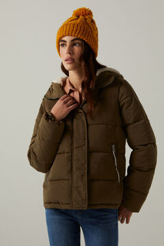 Springfield Reconsider quilted jacket green