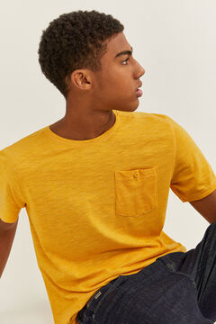 Springfield Textured t-shirt with pocket color