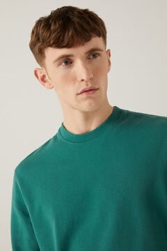 Springfield Crew neck sweatshirt green