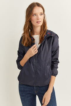 Springfield Lightweight Reversible Jacket blue