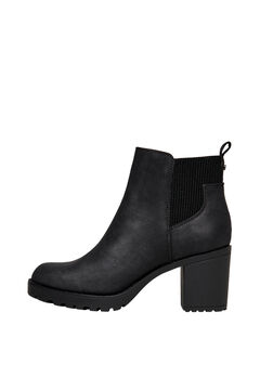 Springfield Rubber soled ankle boot fekete