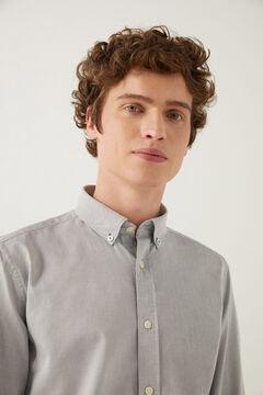 Springfield Dobby shirt gray