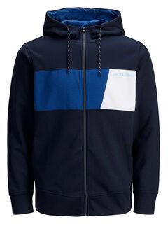 Springfield Zipped sweatshirt navy