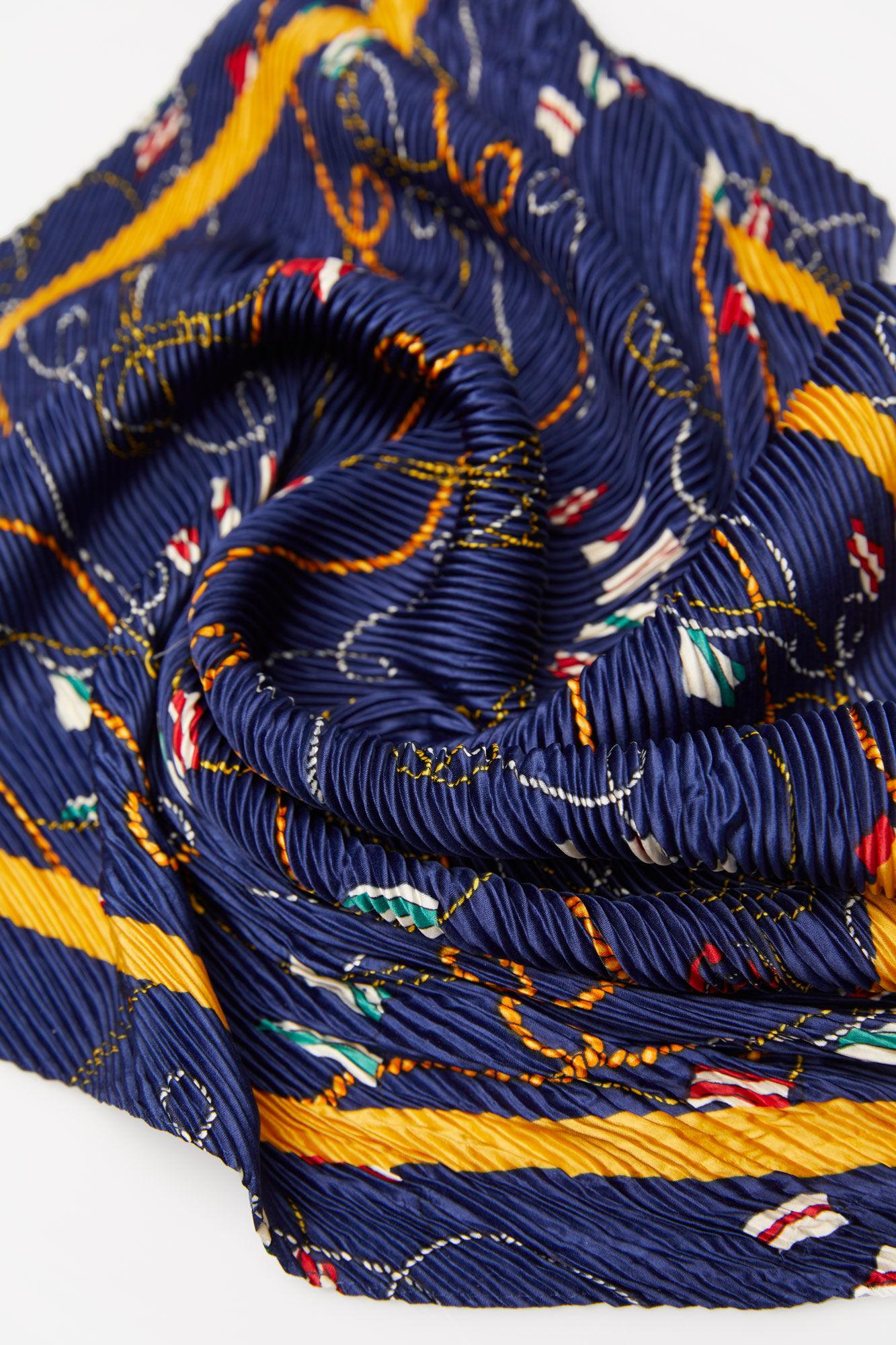 Springfield Pañuelo estampado cadenas azul mezcla