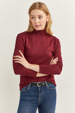 Springfield High Neck Jumper red