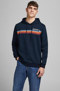 Springfield Logo hooded sweatshirt navy