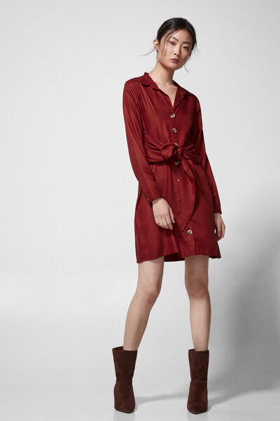 Springfield - Knot shirt dress - 7