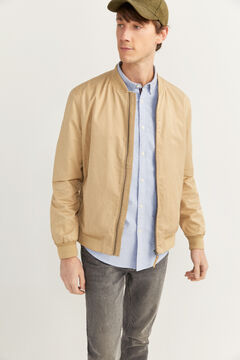 Springfield Bomber jacket stone