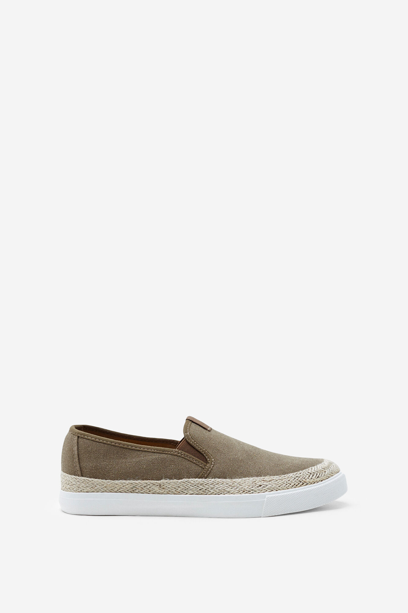 Springfield YUTE SLIP ON SNEAKERS camel. Shop Now!