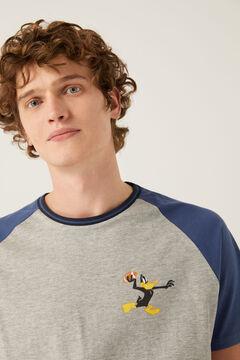 Springfield Pyjama Daffy Duck blau