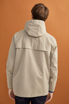 Springfield Water-repellent hooded parka grey
