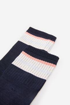 Springfield Colour block socks navy mix