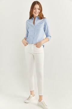 Springfield Slim Fit Cropped Jeans natural