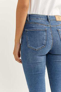 Springfield Pantalon Denim Jegging bleu acier