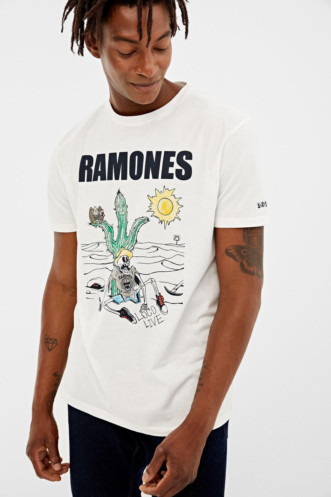 ba15cc52e7df1 Short-sleeved rayon Ramones t-shirt