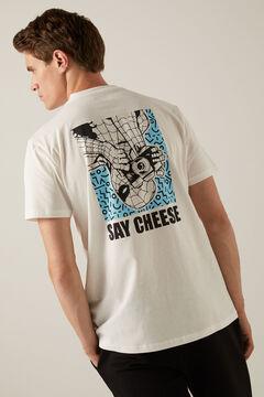Springfield Spiderman T-shirt ecru