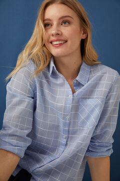 Springfield Printed blouse bluish