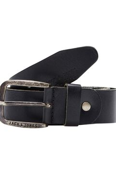 Springfield Classic leather belt fekete