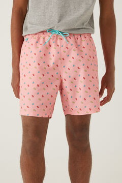 Springfield Ice lolly print swimming shorts lavender