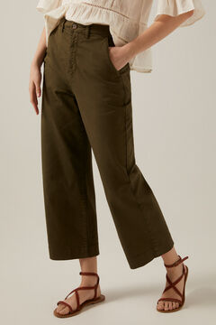 Springfield Coloured culottes green