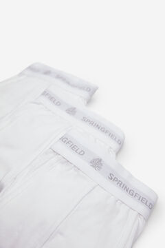 Springfield 3-PACK ESSENTIALS BOXERS white