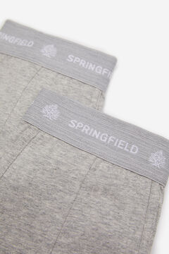 Springfield 2-PACK ESSENTIAL BOXERS gray