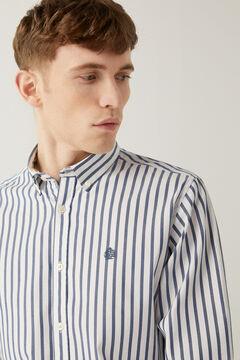 Springfield Striped shirt blue