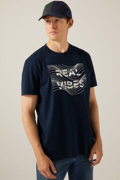 Springfield Real Vibes T-shirt blue