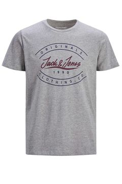 Springfield Sustainable printed t-shirt gray