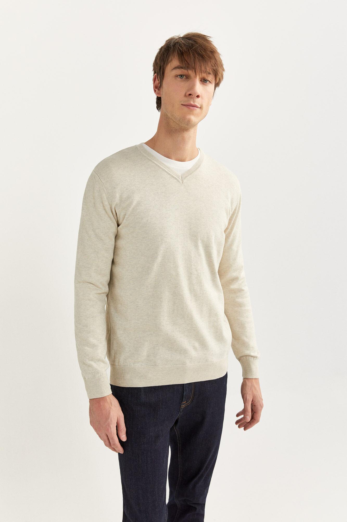 Pullover V Ausschnitt | Jerséis | Springfield Man & Woman