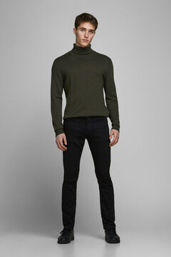 Springfield Skinny fit jeans black