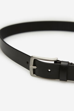 Springfield Essential leather belt black