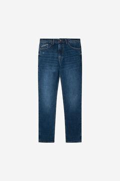 Springfield Dark-green wash slim fit jeans mallow