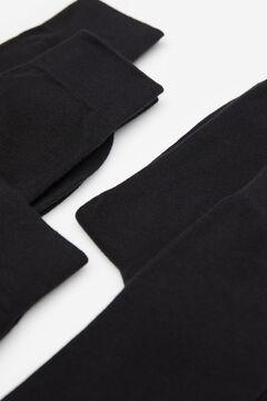 Springfield 5-PACK ESSENTIALS BLACK SOCKS black