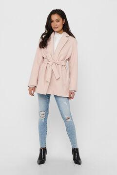 Springfield Abrigo de paño rosa