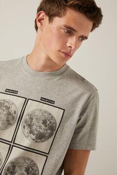 Springfield Galaxy T-shirt gray